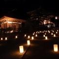 幻想的な秋のイベント『飛鳥光の回廊』@明日香村