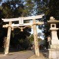 『伊射奈岐神社』と『大和天神山古墳』@天理市柳本町
