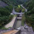 ダム直下のヘアピンカーブが美しい『天理ダム』@天理市