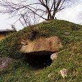 大小の石組みが見事!『弁天塚古墳』@奈良市高樋町