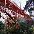 登録有形文化財に登録された美しい橋『開運橋』@信貴山