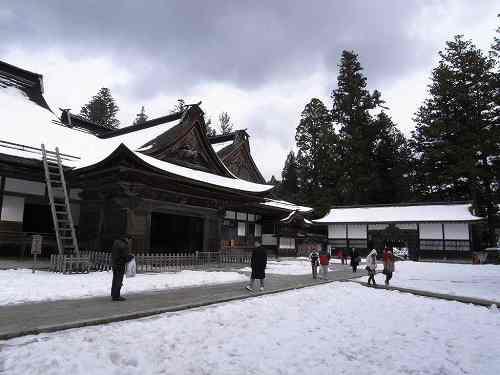 雪の世界遺産!高野山『金剛峯寺&壇上伽藍』@和歌山