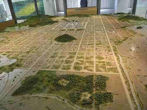 約6m×7mの巨大模型がすごい!『橿原市藤原京資料室』